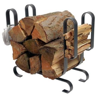 Enclume Large Modern Log Holder Indoor Firewood Rack